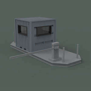 guard house obj