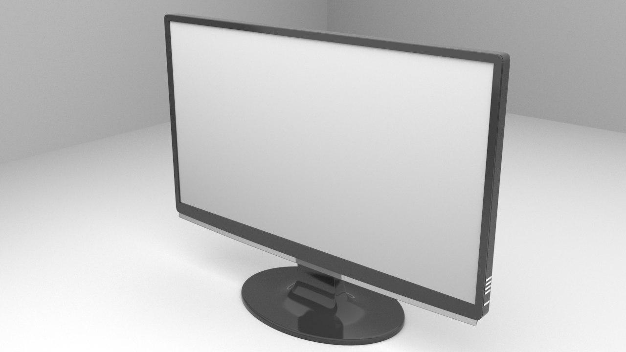 3d generic monitor tv