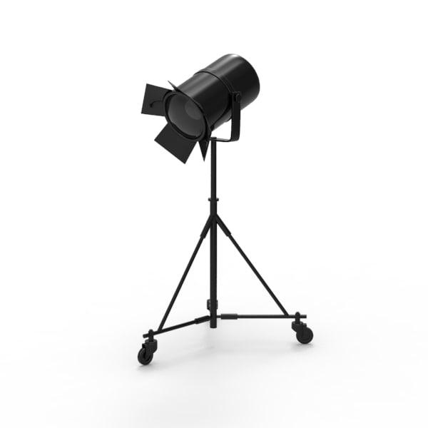 3d model studio spotlight