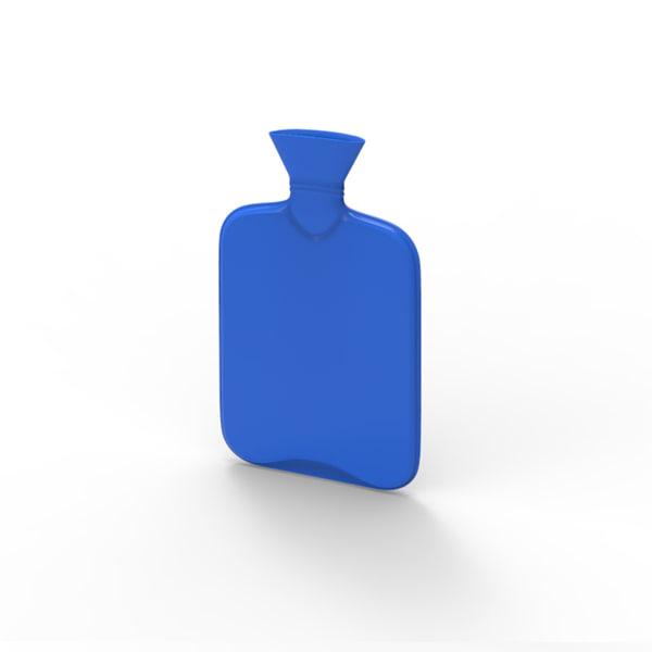 3d model hot water bag