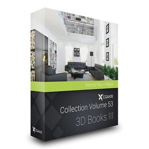 books volume 53 iii 3d max