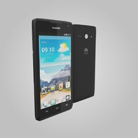 huawei ascend y530 3d model