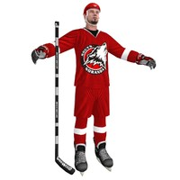 hockey player 3 max