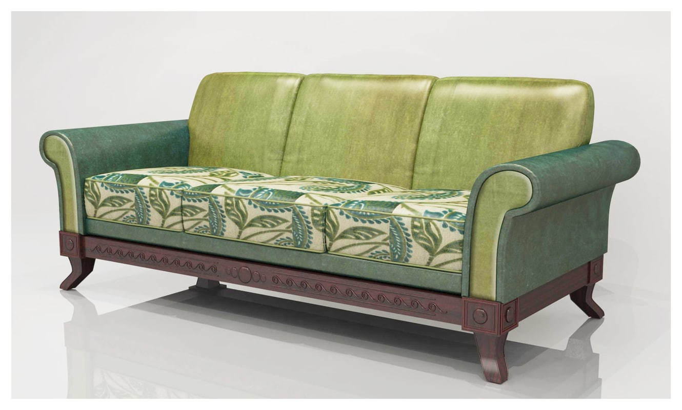 3 seater sofa 3ds
