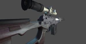 ready dragunov 3d max