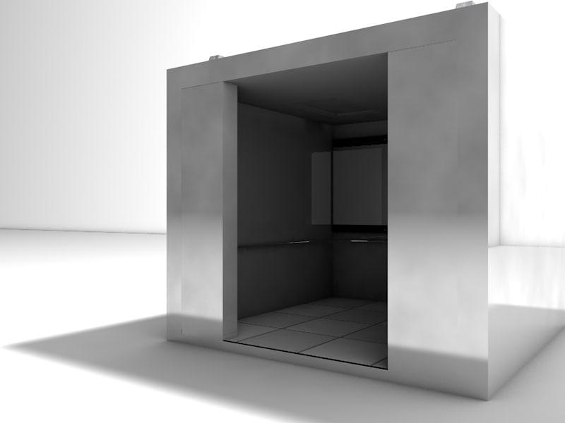 3d obj elevator