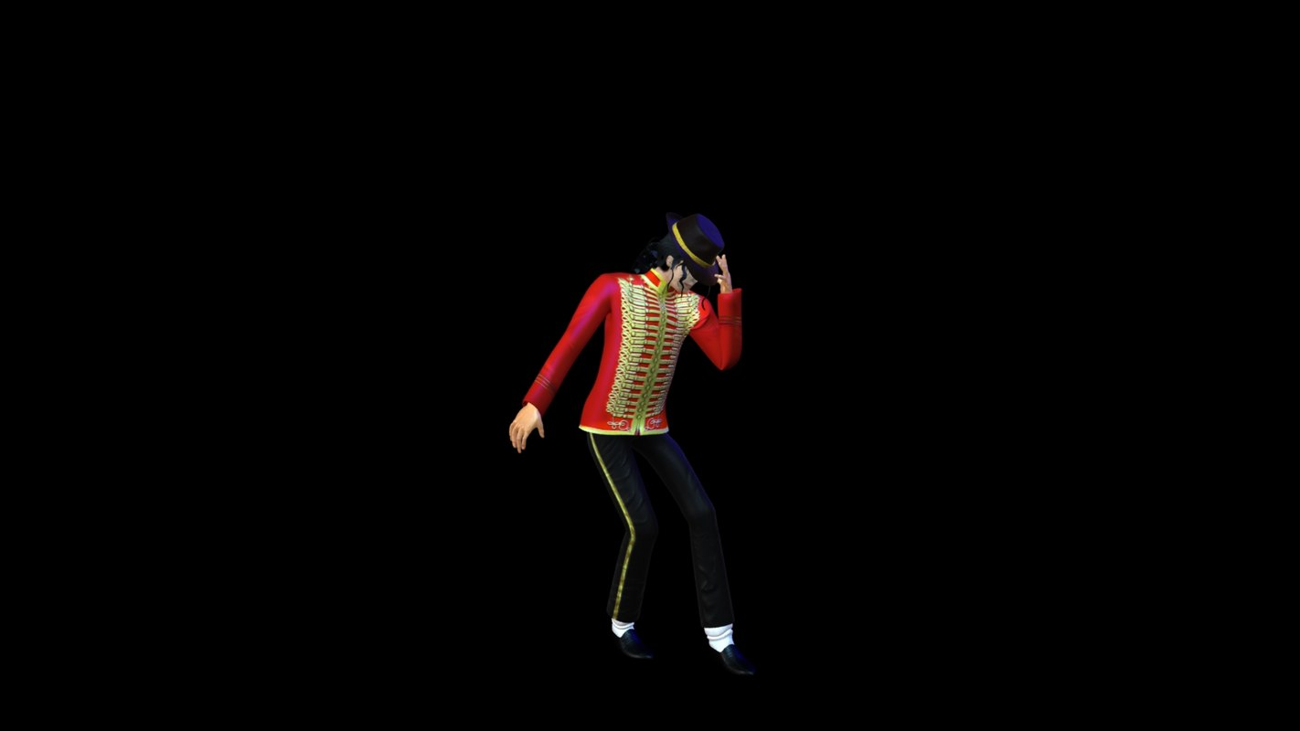 3d model michael jackson animation
