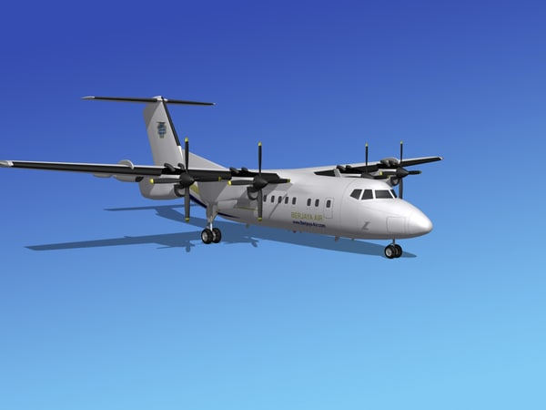 dhc-7-200 air 3ds