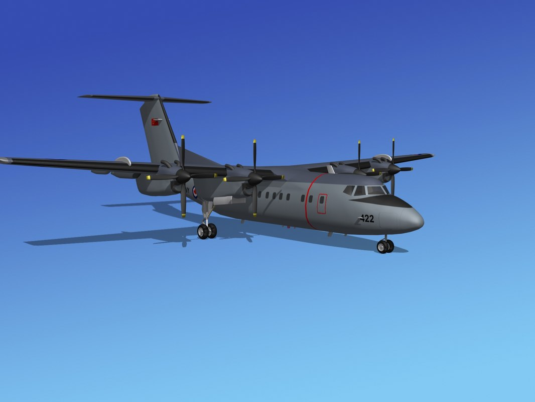 3ds dhc-7-200 canadian navy