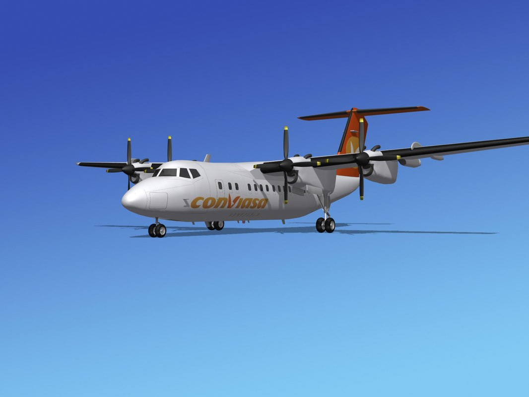 dhc-7-200 passenger freight max