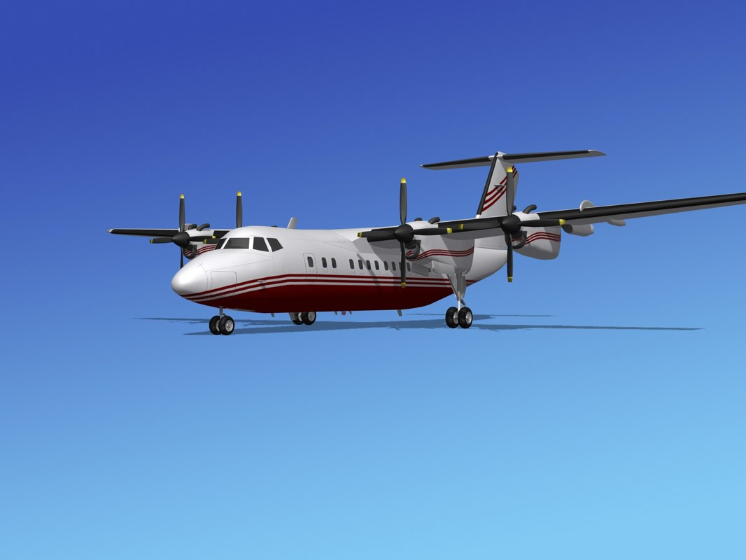 max dhc-7-200 propellers passenger