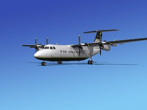 3ds dhc-7-200 passenger freight