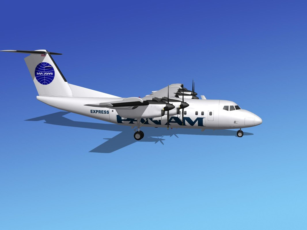 max dhc-7-200 passenger freight