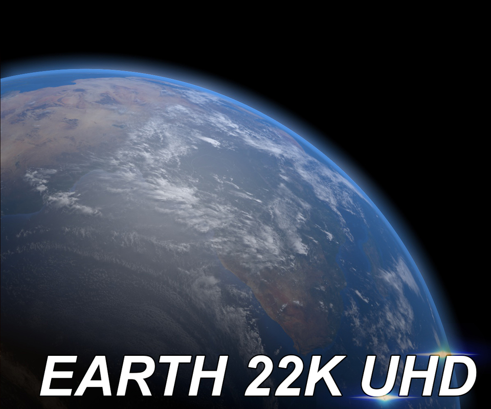 photorealistic planet earth 22k 3d model