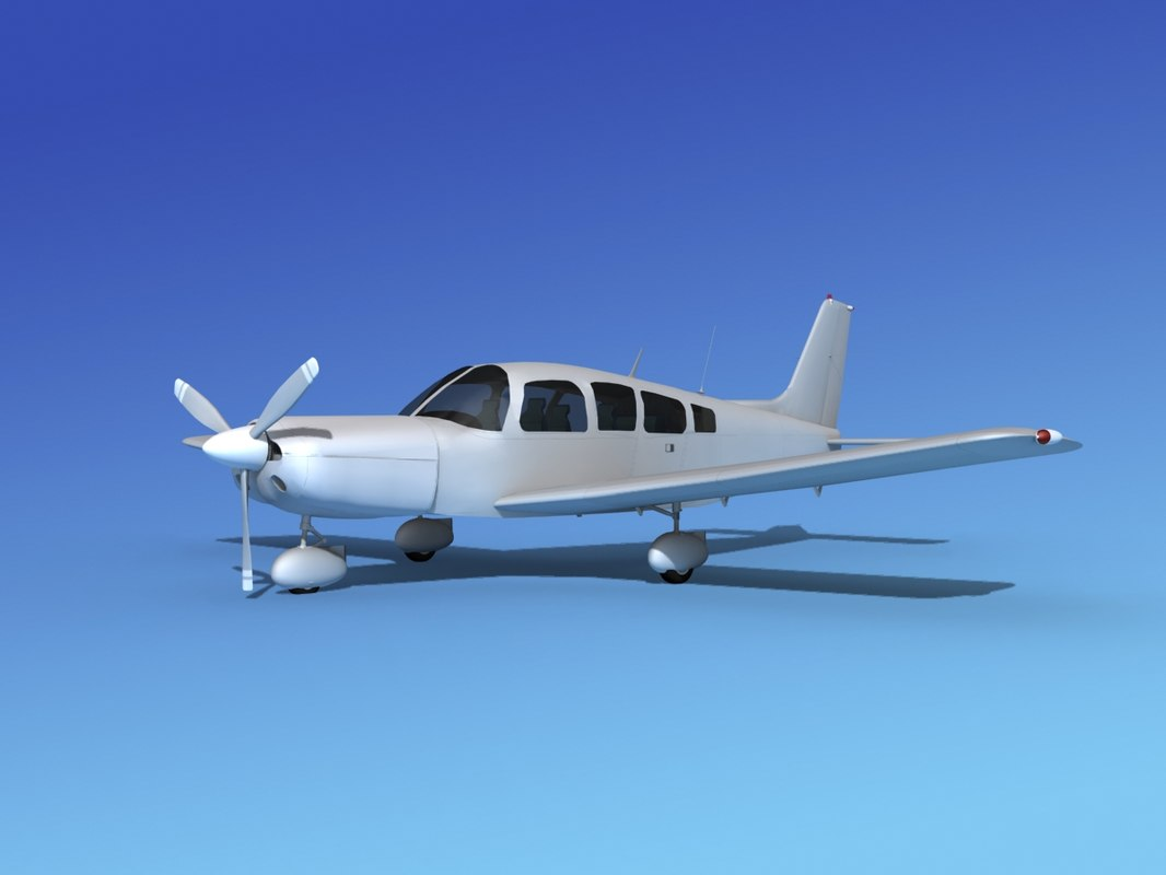 propeller piper cherokee pa32-260 3d model