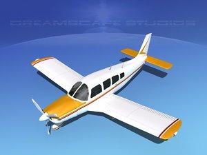 propeller piper cherokee 260 3d dwg