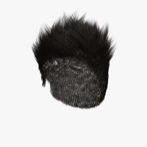 3d daniel hair model