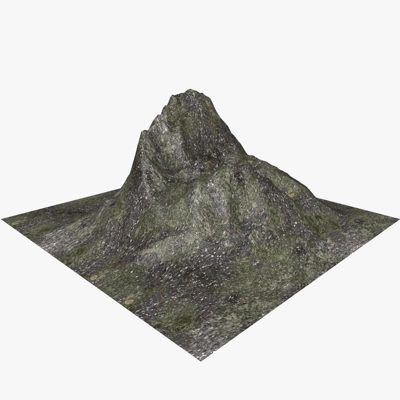 landscape land 3d model