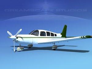 3d propeller piper cherokee 260 model