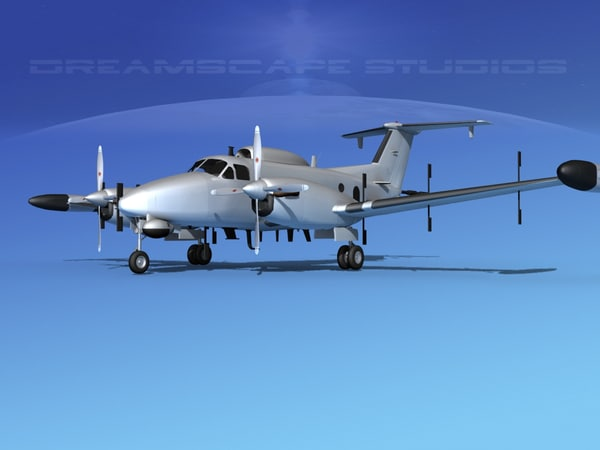 3d propellers rc-12n guardrail model