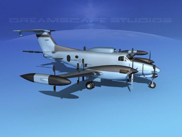 propellers rc-12n guardrail 3d obj