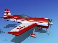 sukhoi su-26 aerobatics 3d max