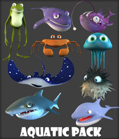 Cartoon Fish Pack