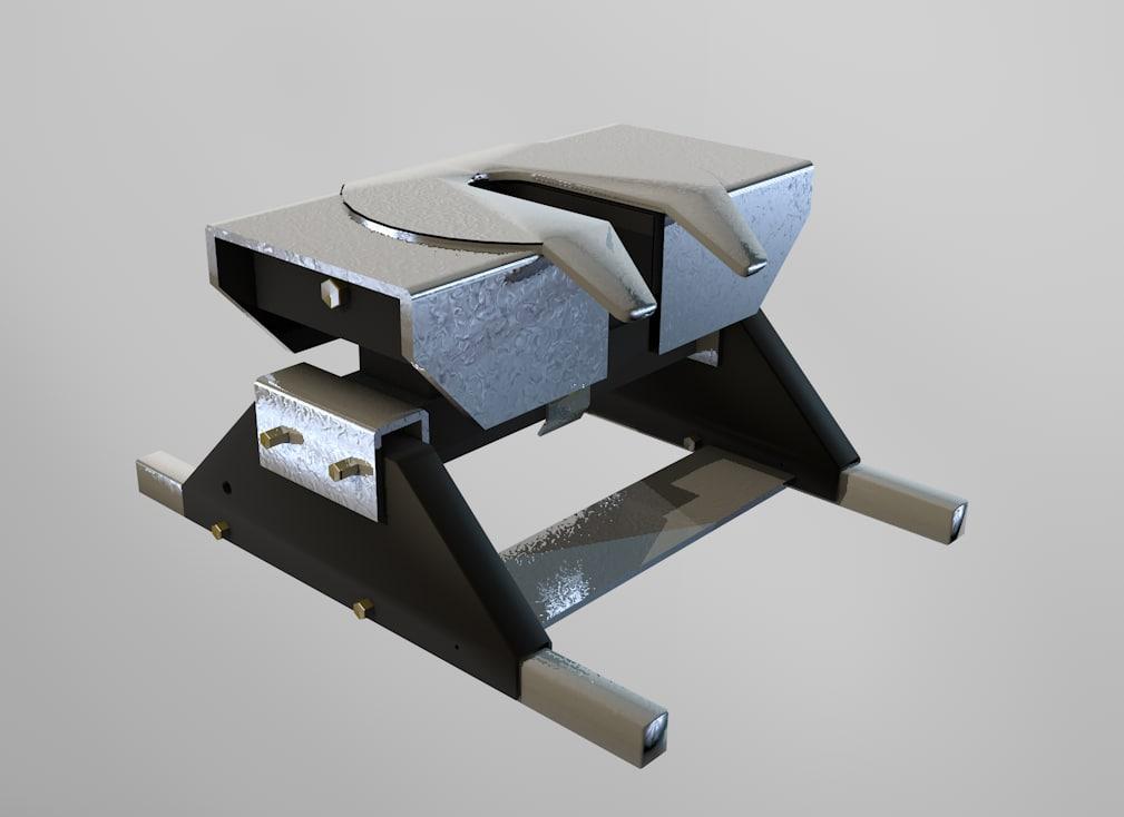hitch 3d model