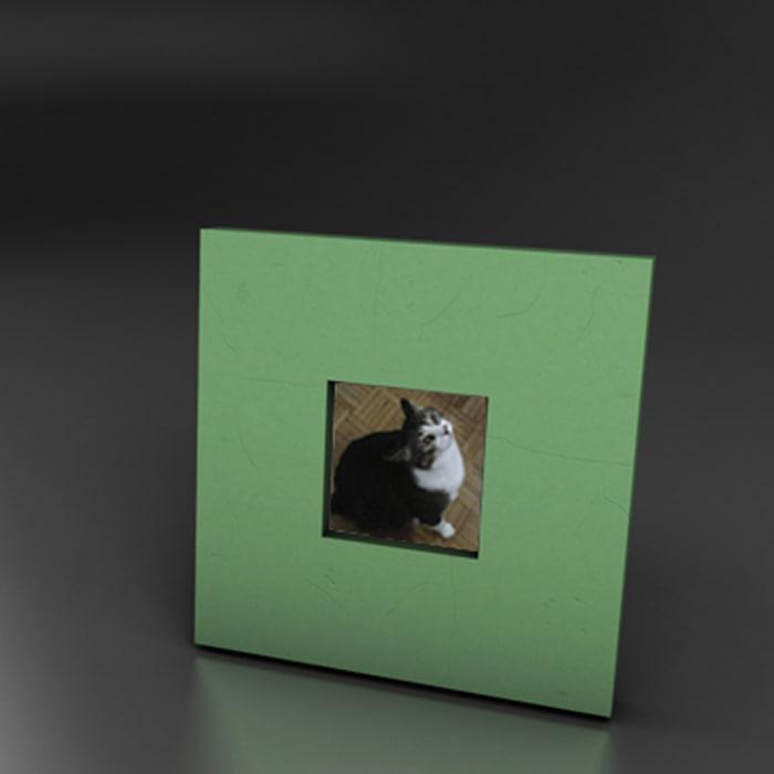 photo : frame 3d model