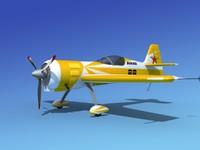 sukhoi su-26 aerobatics 3d model