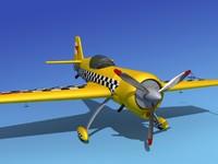 sukhoi su-26 aerobatics 3d 3ds