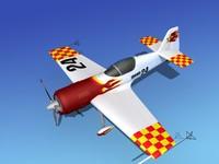 sukhoi su-26 aerobatics 3ds