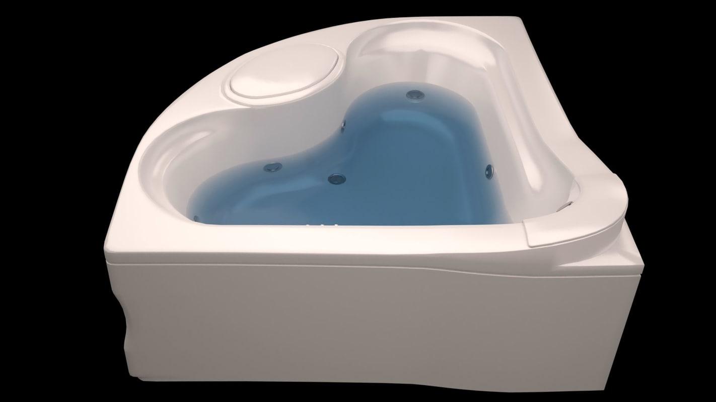 corner bath max