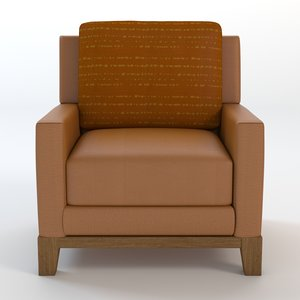 leather club chair max