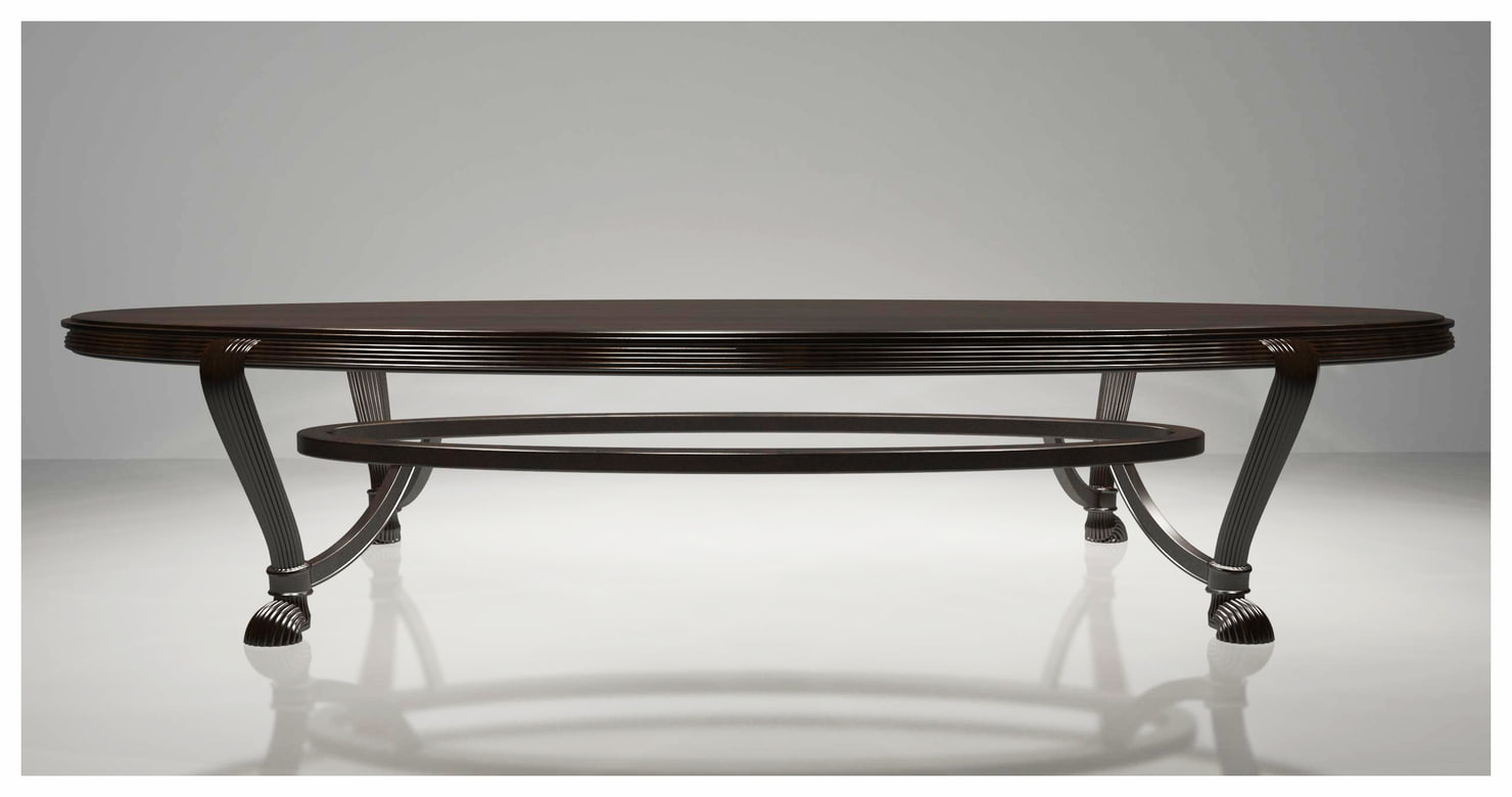 3dsmax wooden dining table
