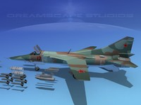 mig-27 flogger russia 3d lwo