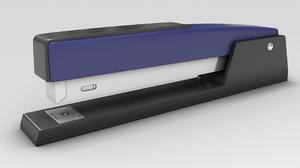 3d model stapler staples