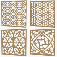Set of Decorative Panel