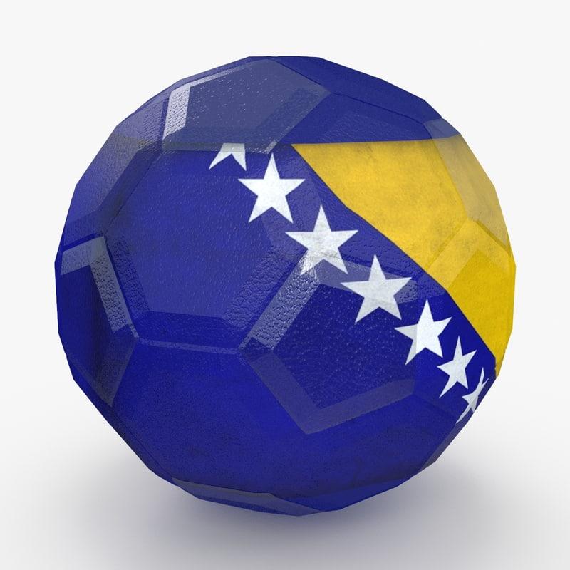 3d model soccer ball