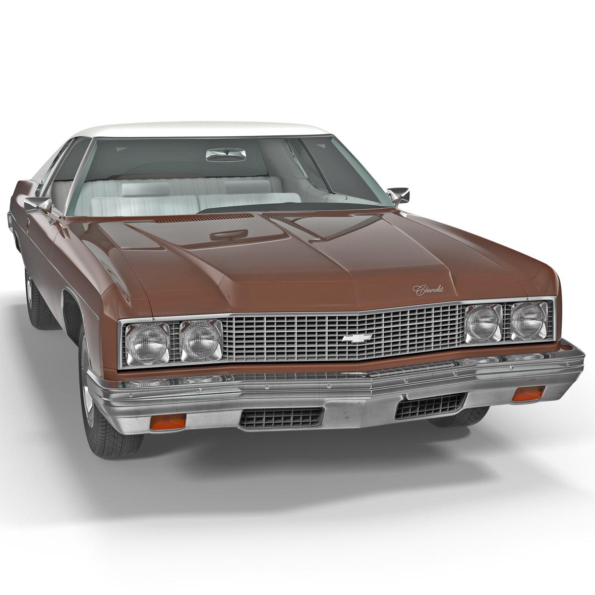 3d model chevrolet impala