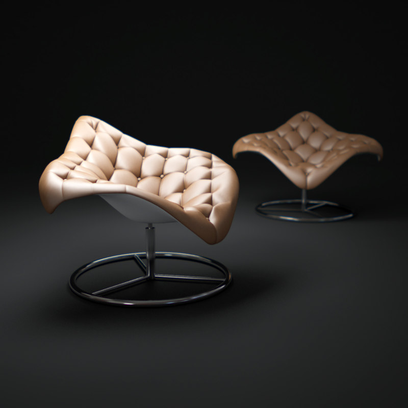 manta-type-c-chair 3d max