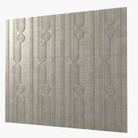 Kowa Collection Decorative Pattern Stone Wall