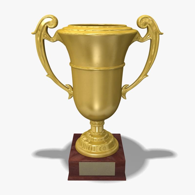 3d model cup prize