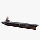 USS Dwight Eisenhower CVN-69 3D models