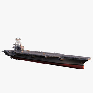 3d model cvn dwight d eisenhower
