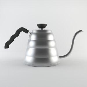 3d hario kettle model