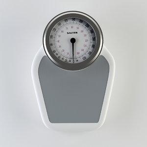 3d model salter medical scale