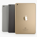 Apple iPad Mini 3 3D models