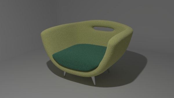 comfy chair sofa 3ds free