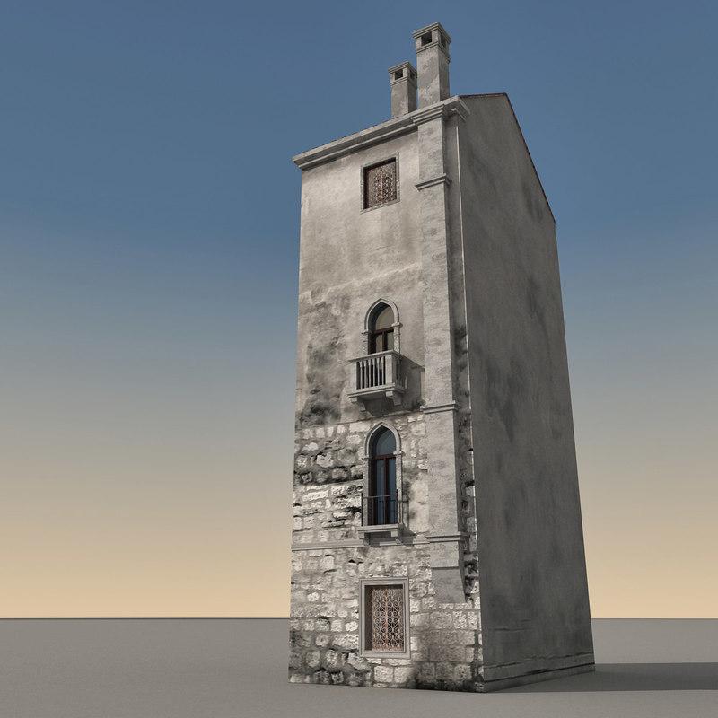 3dsmax building italian